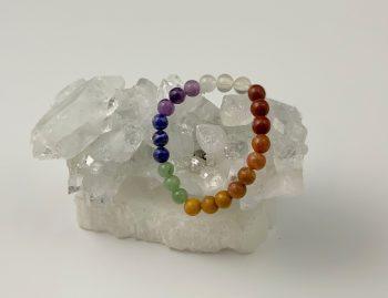 Seven chakra bracelet