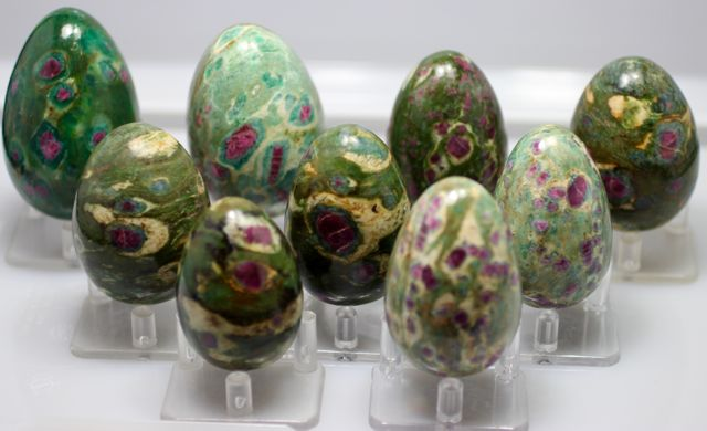Ruby in Zoisite Eggs