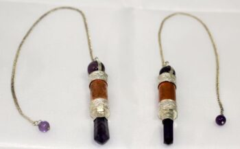 Copper with Amethyst Pendulum
