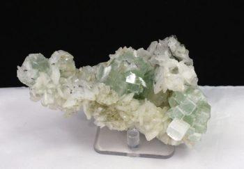 Green Apophyllite & Stilbite