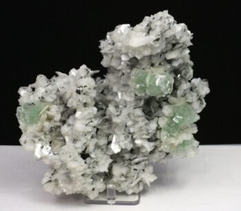 Green Apophyllite and Stilbite,Apophyllite, Stilbite, Green Apophyllite, Chalcedony, Matrix, Zeolite, Minerals, Natural Stone, Rock, Natural Crystal, Disco Ball, Collectible, India, Earth,