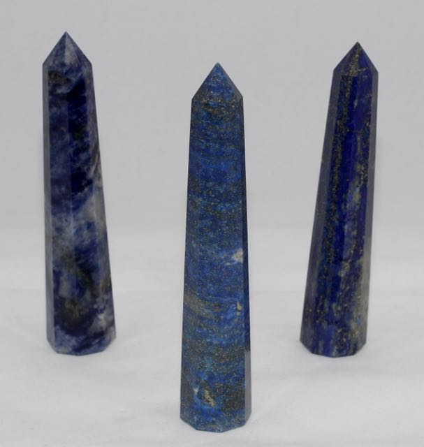Lapis Lazuli Crystal tower, Lapis Lazuli Crystal Obelisk, natural stone, 0belisk point, Crystal point, Lapis Lazuli
