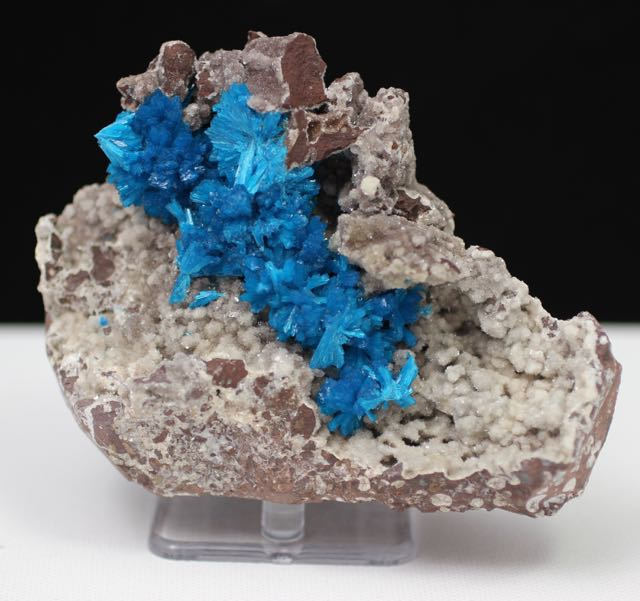 Cavansite, Chalcedony, Quartz, Matrix, Zeolite, Minerals, Natural Stone, Rock, Natural Crystal, Collectible, India, Earth