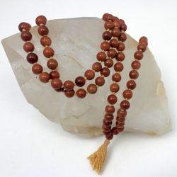 GoldStone Jap Mala Necklace