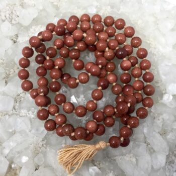 GoldStone Jap Mala Necklace