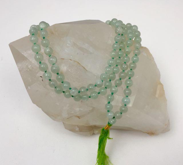 Green Aventurine Jap Mala Necklace