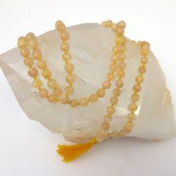 Sunstone Jap Mala Necklace
