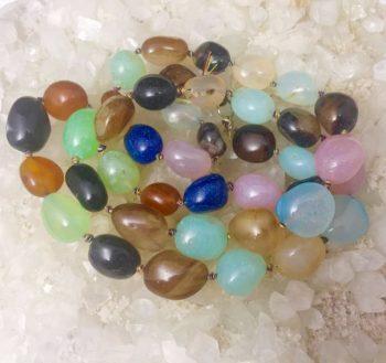 Chakra Tumble Stone Necklace