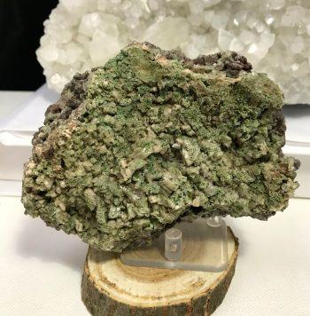 Clear Apophyllite, Heulandite, stilbite