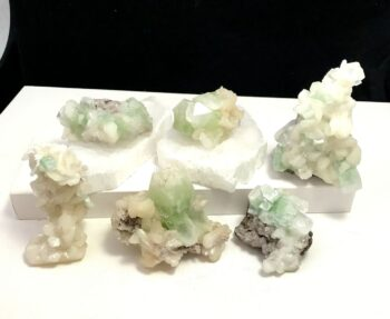 Green Apophyllite and Stilbite
