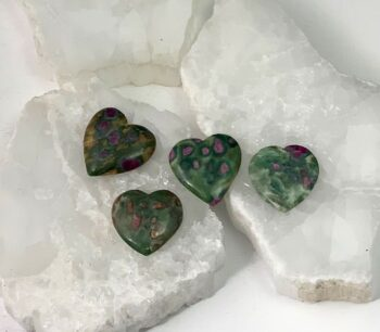 Ruby Zoisite hearts