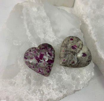 Ruby Granite heart