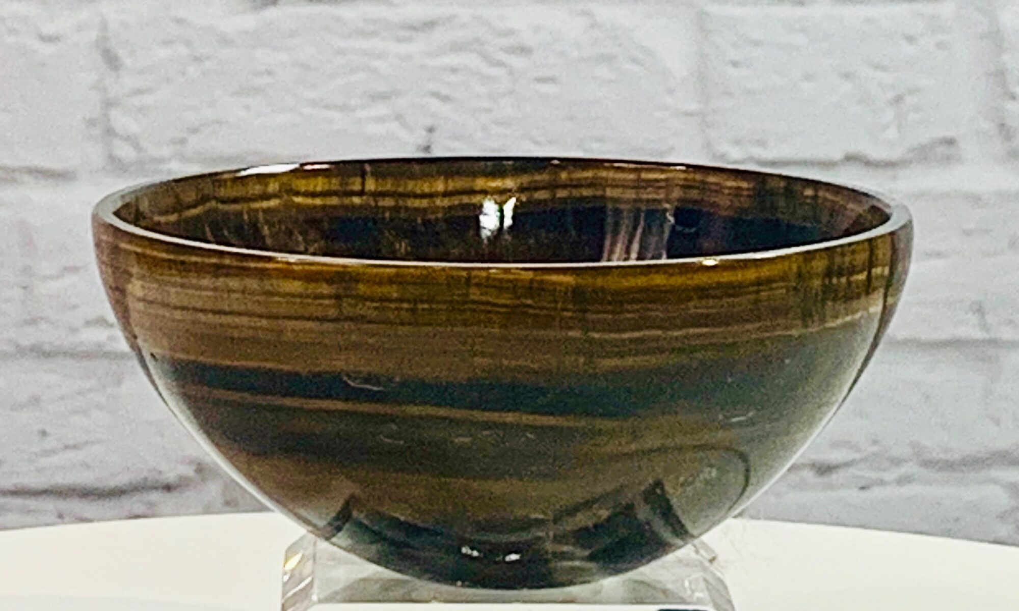 Tigers Eye Crystal Bowl
