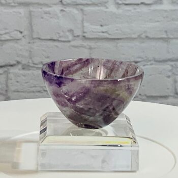 Amethyst Crystal Bowl