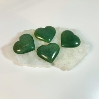 Green Aventurine Hearts2