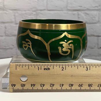 Green Brass Bowl