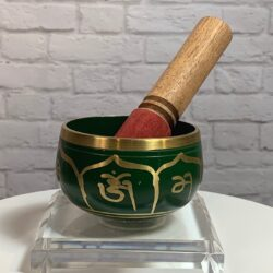 Green Brass Bowl