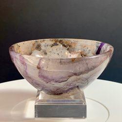 Amethyst Crystal Bowl