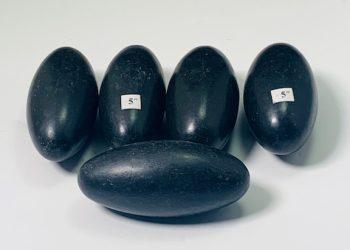"Black Shiva Lingam 5"""
