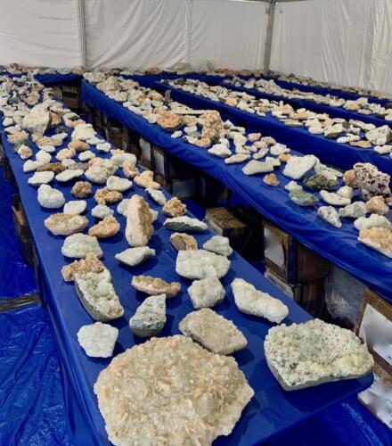 Zeolites in bulk