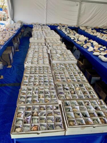 Zeolite Flats in bulk